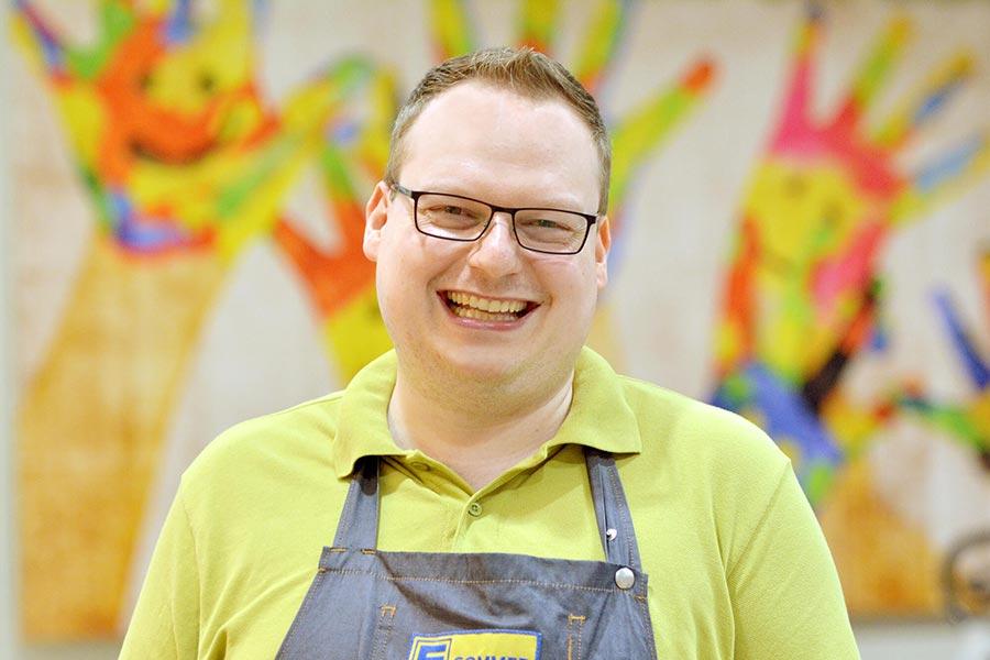EDEKA Sommer Marktleiter Alexander Nikolai