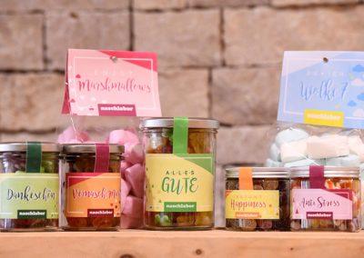 Süßes von Naschlabor bei EDEKA Sommer